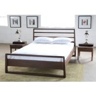 Vernal Queen Bed in American Walnut