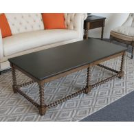 Spindle Oak Coffee Table