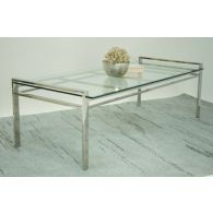Mitchell Gold Emilio Glass Top Cocktail Table