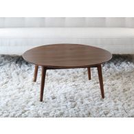 Vintage Round Danish Modern Coffee Table