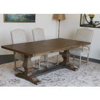 Weathered Oak Rectangular Dining Table