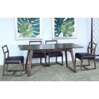 Vernal Dining Table in American Walnut