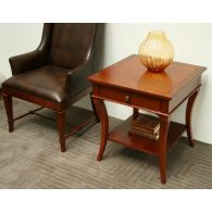 European Legacy Square Lamp Table