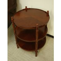 European Legacy Round Lamp Table