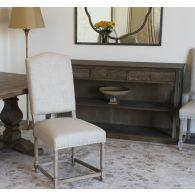 Natural Linen Side Chair