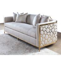 Gold Bullion Cobblestone Sofa
