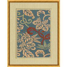Antique Floral Pattern 1 22W x 28H