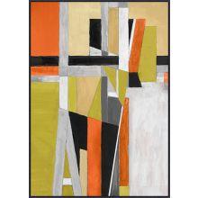 Citronela Cubism 35.75W X 48.75H