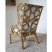 Bound Rattan Arm Chair