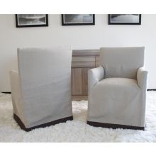 Marcel Chair in Natural Linen