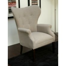 Mitchell Gold Suzanne Chair in Brighton Flint