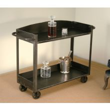 Iron Trolley Bar Cart