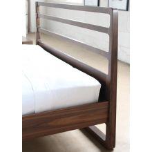 Vernal Queen Bed in American Walnut