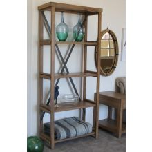 Weathered Transitions Bookcase