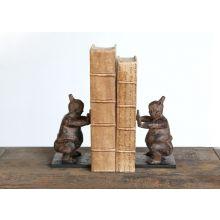Pair of Bronze Sumo Bookends