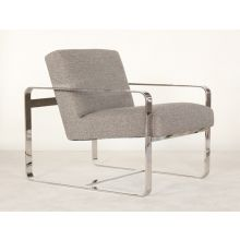 Mitchell Gold Armand II Chair in Dark Taupe
