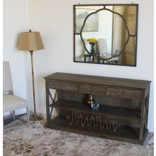 Weathered Oak Console