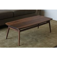 Twist Rectangular Coffee Table in American Black Walnut