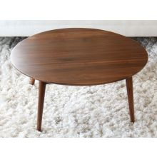 Vintage Round Danish Modern Coffee Table