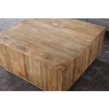 Butcher-Block Coffee Table
