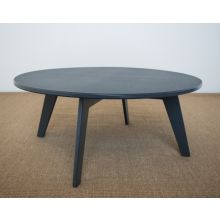 Recycled Plastic Coffee Table In Grey