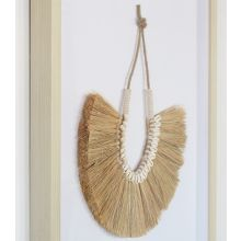 Marina Necklace Of Shells & Grass Fronds 23W X 30H