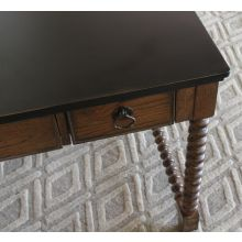 Spindle Oak Writing Desk