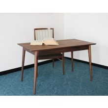 Mid-Century Danish Style Desk in American Black Walnut