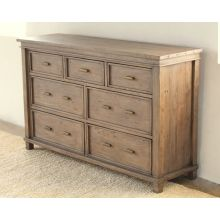 Settler 7 Drawer Dresser in Sundried Ash