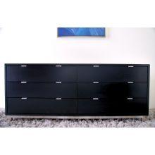 Modern Dresser In Onyx