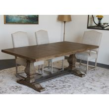 Weathered Oak Rectangular Dining Table