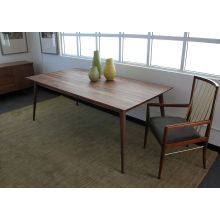 Vintage Danish Modern Rectangular Dining Table