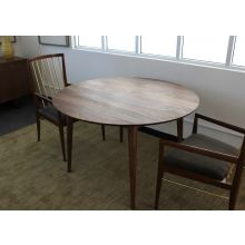 Vintage Round Danish Modern Dining Table