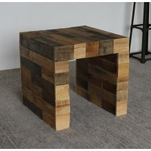Reese Reclaimed Wood Side Table