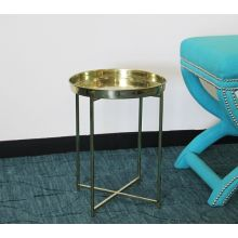 Malika Brass Accent Table