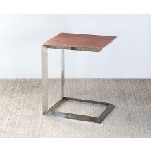 Horseshoe Tall End Table
