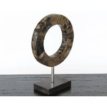 Small Ring Sculpture - Cleared Decor