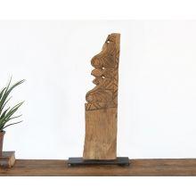 Large Primitive Sculpture - Cleared Décor