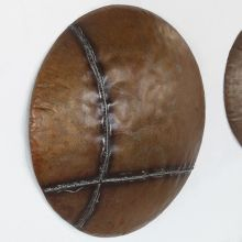 Medium Rustic Iron Wall Art - Cleared Decor