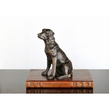 Bronze Labrador Retriever Figurine