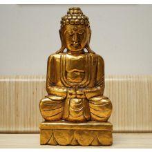 Golden Thai Buddha - No Horn