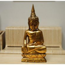 Golden Thai Buddha with Horn