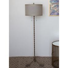 Twined Iron Floor Lamp