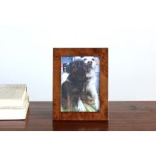 Dark Burled Wood 5x7 Picture Frame