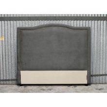 Parker Queen Headboard in Charcoal Gray