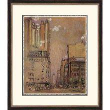Pastel New York II 25W x 29H