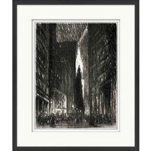 New York Charcoal Study I 26W x 32H