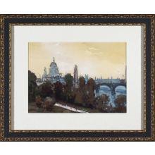 City Watercolor - London 28W x 23H