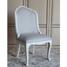 Oly Belle Side Chair in Antique White Finish