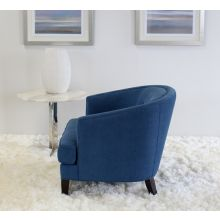 Glover Chair in Blue Upholstery